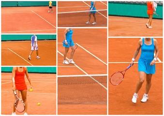 Composition tennistique