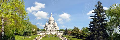 Leinwanddruck Bild Sacre-Coeur, Paris