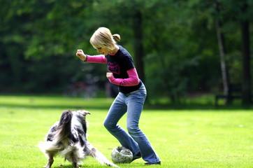 Spieln im Park