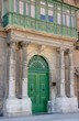porte et bow window à Malte