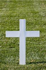 White Christian Cross