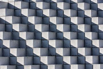 Astract Bricks and Shadows