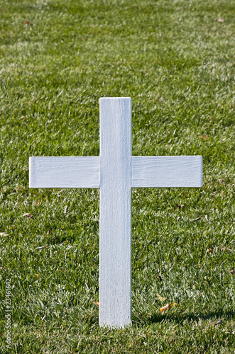 White Christian Cross