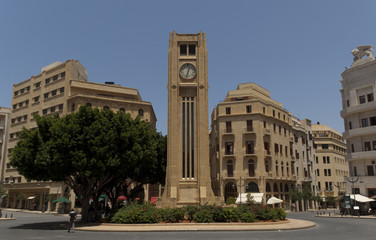 Beirut Lebanon - Downtown Place d´etoile