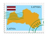 mail to/from Latvia