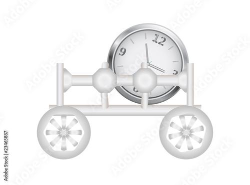 Truck clock