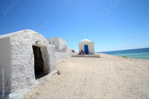 Fotobehang Tunesië Tunisie - Djerba - Côte Sauvage