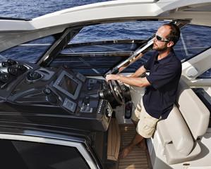 France, Corsica, Azimut Atlantis 50' luxury yacht