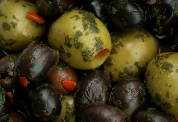 Olives in Marinade