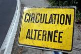 circulation alternée poster