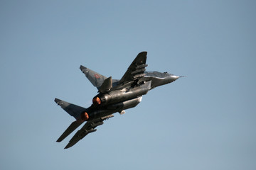 Mig-29 on airshow