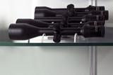 Optics - rifle scopes poster