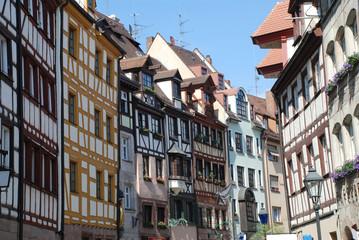Weißgerbergasse Nürnberg Altstadt Innenstadt Metropolregion