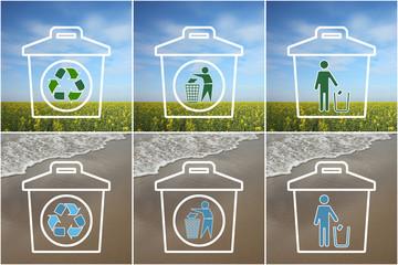 Ecologie : Pour des vacances propres !