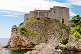 Sea fort, Dubrovnik, Croatia