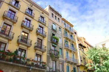bario gotico à barcelone