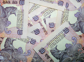 Indian currency Background