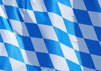 Flagge Bayern - Bavarian Flag Detail