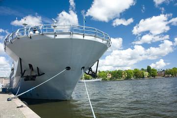 Head of warship