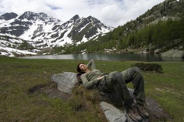Riposo dopo il trekking