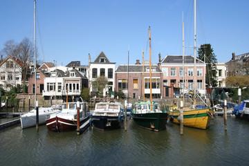 Marina of Dordrecht, Holland