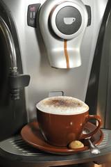 Cappucino, Kaffee, Tasse, Kaffemaschine