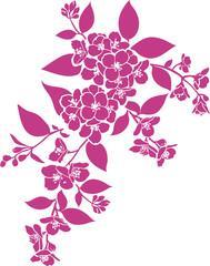 Floral twig