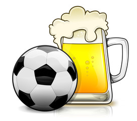 Beer and football