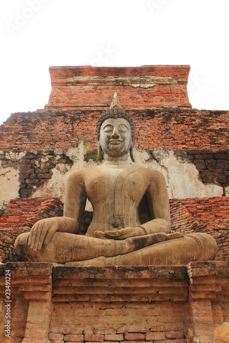 image of big city Buddha is Sukotha