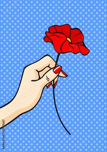 kwiat-w-dloni