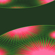 abstract green & pink background