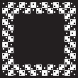 Optical illusion the same parallel squares poster