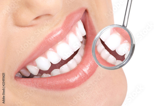 healthy teeth - 23493621