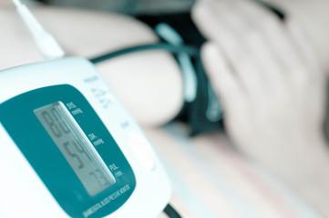Measurement of arterial pressure.