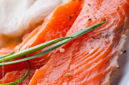 smoked fresh salmon