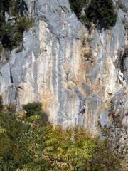 climbing - scalare una parete