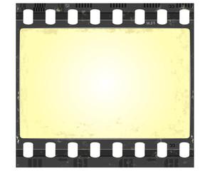 film frame in grunge style
