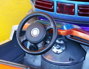 Auto Scooter Lenkrad - Driver Concept
