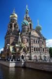 Près du Sang-Versé à Saint Petersbourg