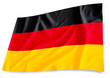 German flag, isolated