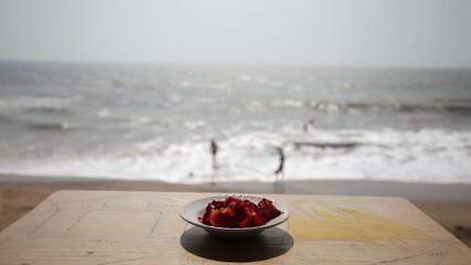 Ausblick von der Strandbar