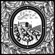 roleta: Olive grove black and white