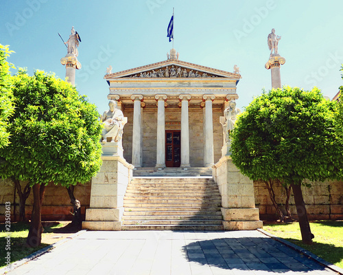 National academy of Greece, main facade