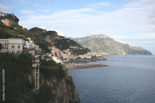 Picturesque Amalfi Coast. Italy, Europe