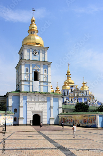 Ukraine - St. Mikhail Golden Domed Monastery in Kiev