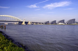 View of the river Maas in Rotterdam, Holland