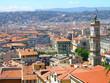 Nice city bird eye view