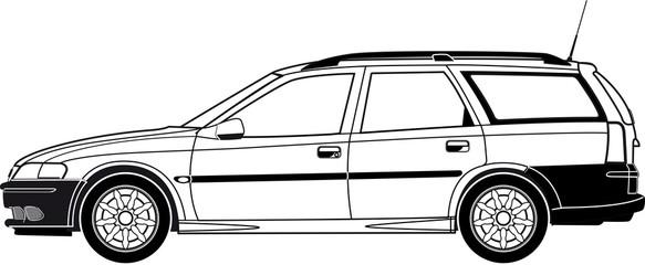 Fahrzeug, Kombi