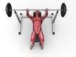 Fitnesstraining - Hantelbank
