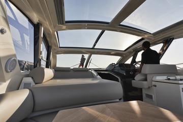 France, Corsica, cruising on an Atlantis 50' luxury yacht
